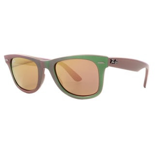 Ray-Ban RB2140 Original Wayfarer Cosmo Brown Copper Lenses Sunglasses