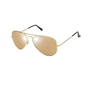 Ray-Ban RB3025 Large Metal Aviator Sunglasses