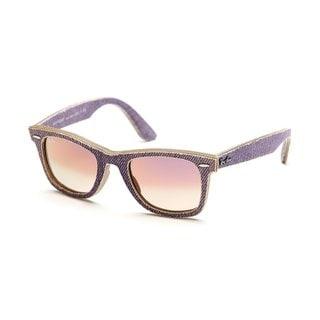 Ray-Ban RB2140 Violet Denim Original Wayfarer Sunglasses