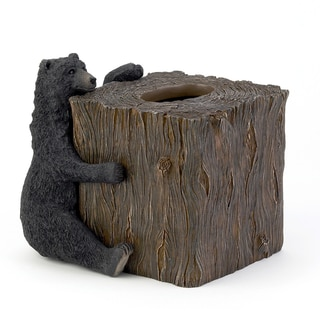 Black Bear Lodge Tissue Cover