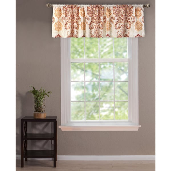 Greenland home fashions tuscan window valance overstock shopping