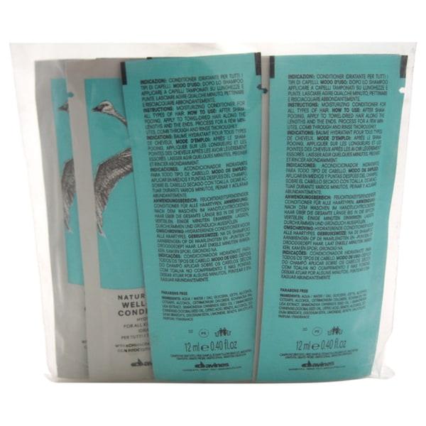 Davines Naturaltech Well-being Conditioner Sachet Kit