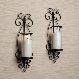 Danya B San Remo Metal Wall Sconce Set
