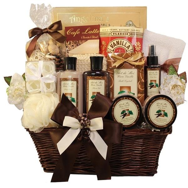 Essence of Luxury Spa Bath and Body Gift Basket Set