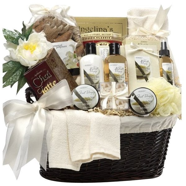 Essence of Luxury Spa Bath and Body Gift Basket Set
