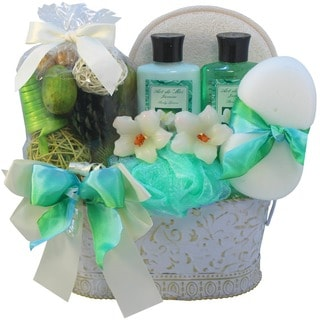 Jasmine Renewal Spa Bath and Body Medium Gift Basket Set