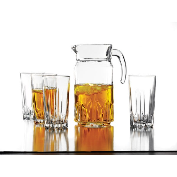 Accents by Jay Style-Setter Florence 5-piece Beverage Set with Pitcher