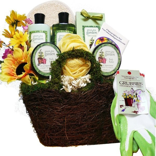 Gardener's Hand and Body Relief Spa Set Bath and Body Tote