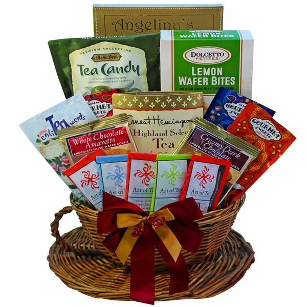 You're My Cup of Tea Gourmet Snacks Gift Basket 15643294