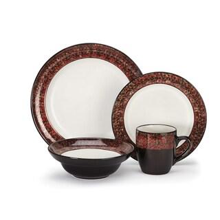 Cuisinart Stoneware Madeleine Collection 16-Piece Dinnerware Set