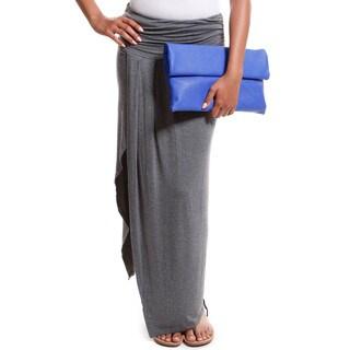 Hadari Women's Open Leg Maxi Skirt