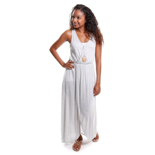 Hadari Women's Crossover Maxi Dress