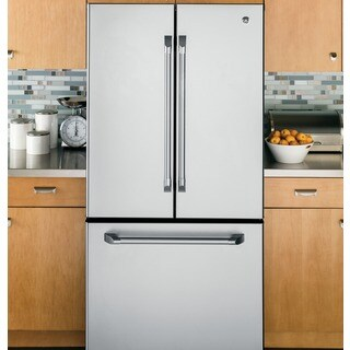 GE Cafe Series 22.7 cu. Ft. French-door Refrigerator with Internal Dispenser