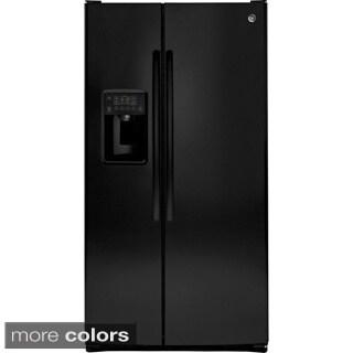 GE Energy Star Side-by-side 25.4 Cubic Feet Refrigerator