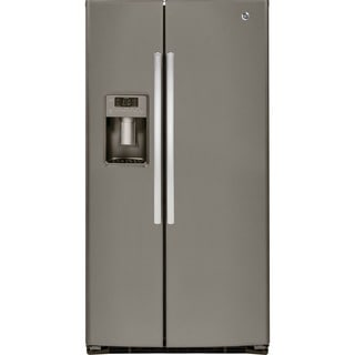 GE Energy Star 25.4 Cubic Feet Side-by-side Refrigerator