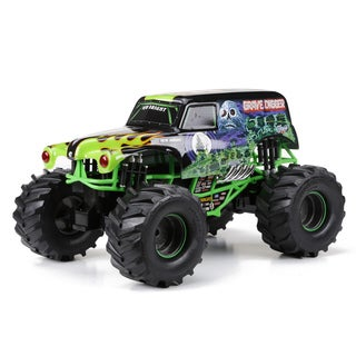 Bright 1:10 R/C Full Function Monster Jam 9.6V 2.4GHz Grave Digger Remote Control Truck