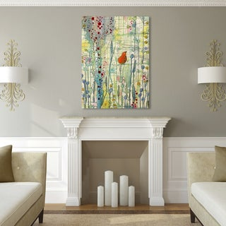 Sylvie Demers 'Alpha' Gallery Wrapped Canvas Art