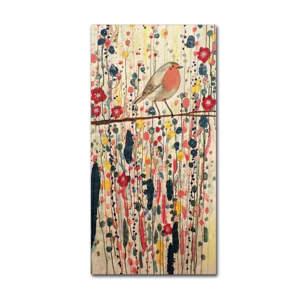 Sylvie Demers 'Je Ne Suis Pas Qu'un Oiseau' Gallery Wrapped Canvas Art