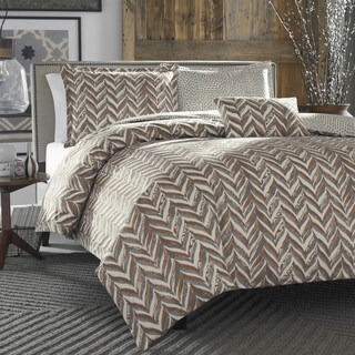 City Scene Savoy 4-piece Comforter Set with Bonus Decorative Pillow