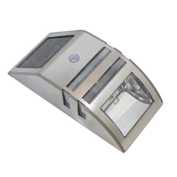 Outdoor Stainless Steel Motion Sensor Solar Light