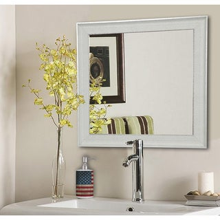 American Made Rayne Vintage White Mirror