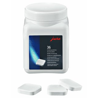 Jura Descaler Tablets - 36 Pieces for Coffee and Espresso Machines