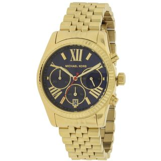 Michael Kors Women's MK6206 'Lexington' Chronograph Gold-Tone Stainless Steel Watch