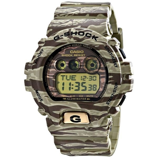 Casio Men's GD-X6900TC-5CR 'G-Shock' Digital Camouflage Resin Watch