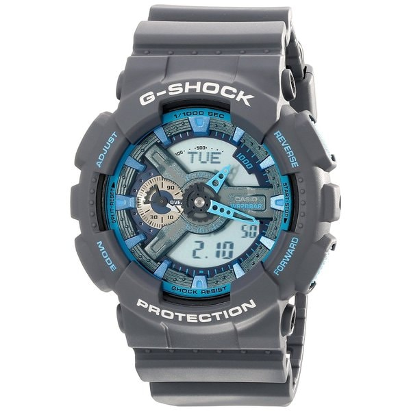 Casio Men's GA-110TS-8A2CR 'G-Shock' Grey Resin Watch