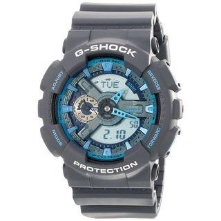 Casio Men's GA-110TS-8A2CR 'G-Shock' Grey Resin Watch