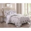 Rhonda Floral 3-piece Quilt Set