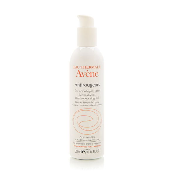 Avene Antirougeurs 10.14-ounce Redness Relief Dermo-Cleansing Milk