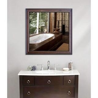 American Made Rayne American Walnut Wall Mirror