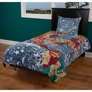 Rizzy Home Travel and Explore 3-piece Comforter Set