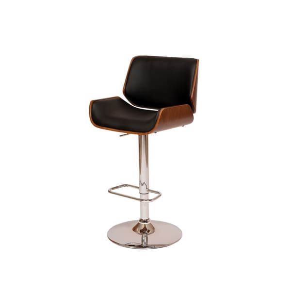 London Swivel Black Barstool 15645072