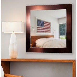 American Made Rayne Shiny Bronze Wall Mirror