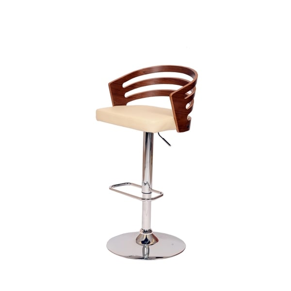 Adele Swivel Cream Barstool