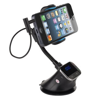 Smart Holder HandsFree Car Kit, Charger, MP3, FM Transmitter