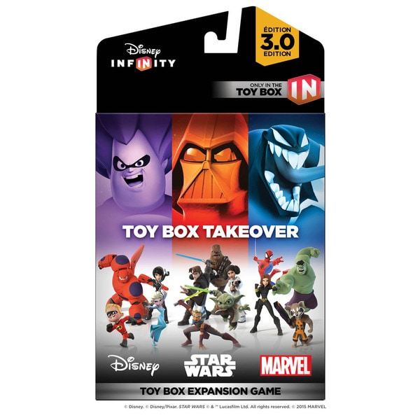 DISNEY INF 3 TOY BOX TAKEOVER 15647045