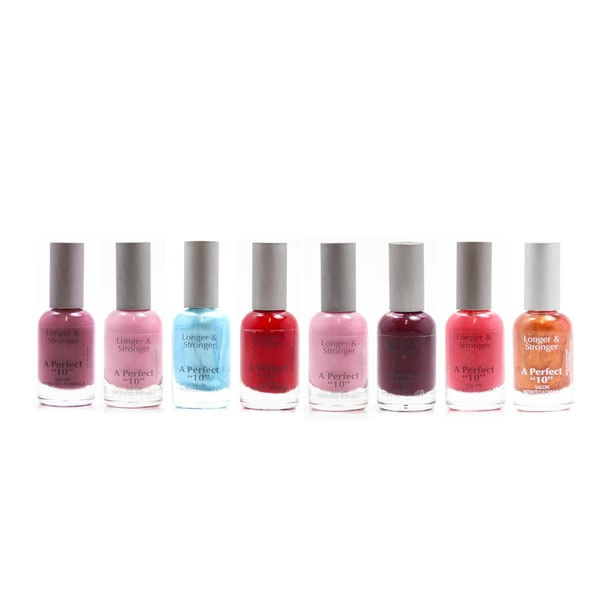Bari A Perfect '10' Nail Polish 9-piece Set