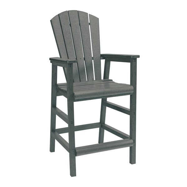 Generations Slate Dining Adirondack Style Pub Arm Chair