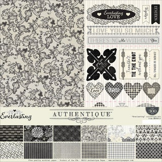 Authentique Collection Kit 12inX12in Everlasting