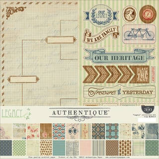 Authentique Collection Kit 12inX12in Legacy