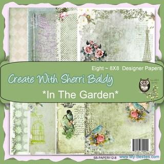 My Besties 8inX8in Single Sided Paper 8 Sheets/Pkg In The Garden