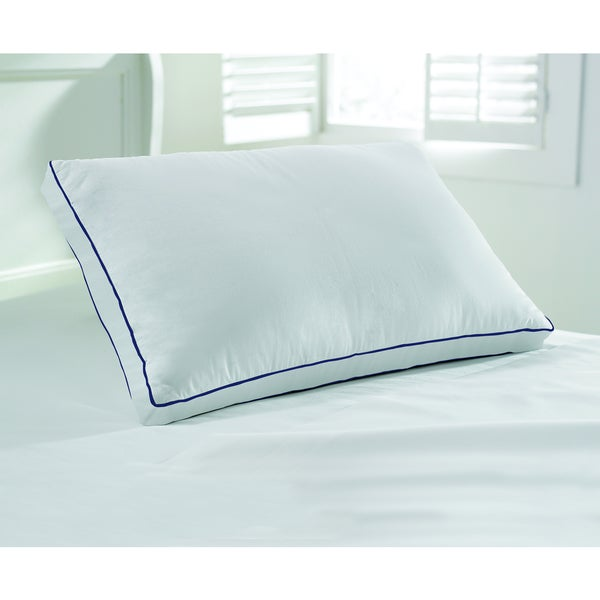 Nautica 233 Thread Count Cotton Gel Fiber Pillow (Set of 2)