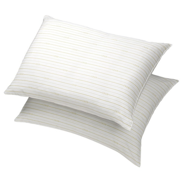 IZOD Signature Stripe Extra Firm Jumbo Pillow (Set of 2)