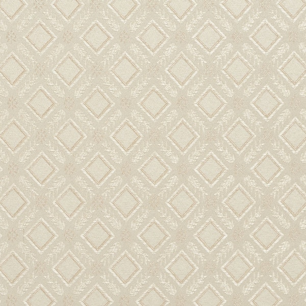 E634 Diamond Ivory Silver Damask Upholstery Window Treatment Fabric By The Yard