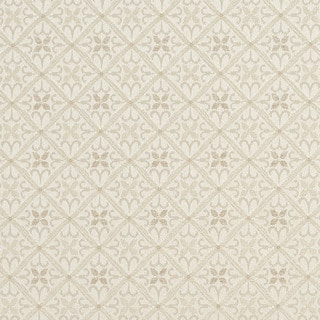 E658 Diamond Ivory And Silver Damask Upholstery Fabric By The Yard