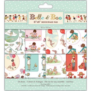 Belle & Boo Decoupage Pad