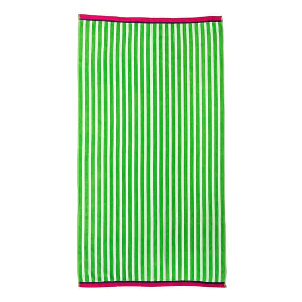 Jumbo Stripe Velour Beach Towel 15648871